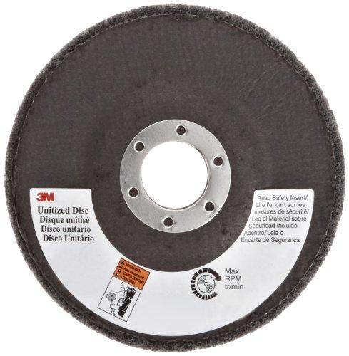 3M Scotch-Brite XL-UD Silicon Carbide Deburring Disc - Fine Grade - Arbor Attachment - 4 12 in Dia 78 in Center Hole - 11000 Max RPM - 29201 PRICE is per DISC
