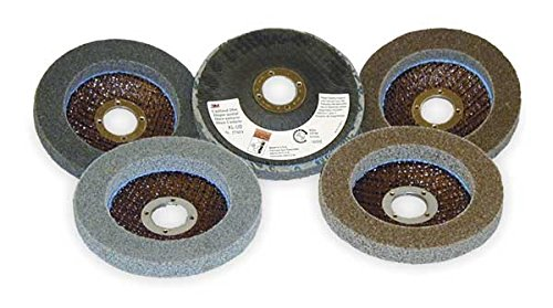 3M Scotch-Brite XL-UD Silicon Carbide Deburring Disc - Fine Grade - Arbor Attachment - 4 12 in Dia 78 in Center Hole - 13300 Max RPM - 27689 PRICE is per DISC
