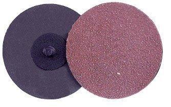 Weiler AL-tra CUT Aluminum Oxide Deburring Disc - Medium Grade - Quick Change Attachment - 2 in Dia - Style Plastic Button Grit 60 - 59807 PRICE is per DISC