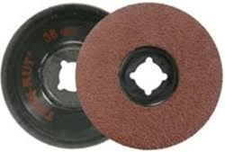 Weiler Aluminum Oxide Deburring Disc - Very Coarse Grade - Arbor Attachment - 3 in Dia - 21000 Max RPM - 59300 PRICE is per DISC
