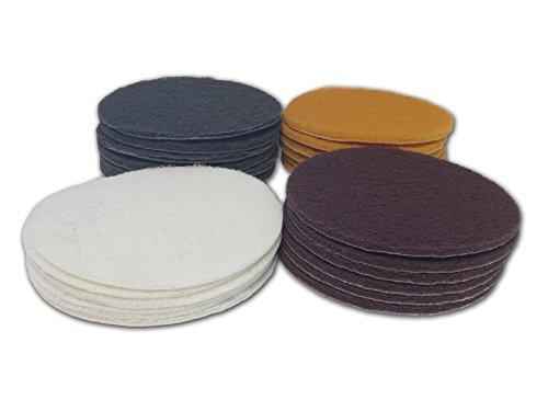 6 Inch Non Woven Scuff Buff n Blend Discs Multi Grit 24 Pack