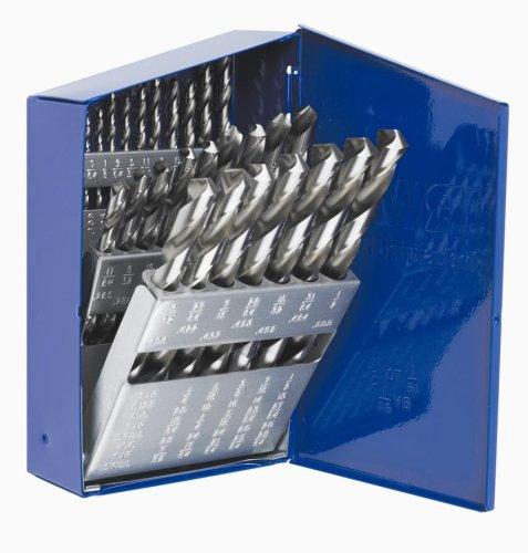 Irwin Industrial Tools 60148 General Purpose HSS 38-Inch Reduced Shank Metal Index Drill Bit Set 29-Piece