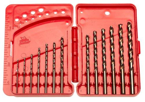 Vermont American 12187 Sidewinder 13 Piece 116-Inch to 14-Inch Twist Drill Bit Assortment in Plastic Case