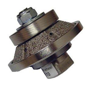 Diamond Router Bit for Grinder - 7mm E Profile Bevel