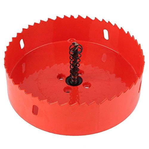 Yosoo Bi Metal M42 HSS Hole Saw Cutter Drill Bit For Aluminum Iron Pipe 110mm-200mm 120mm
