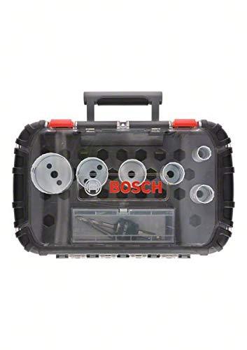 Bosch 2608594187 9-Piece Set Electricians Set Bi-Metal Progressor Hole Saws Diameter 22 29 35 44 51 64 mm