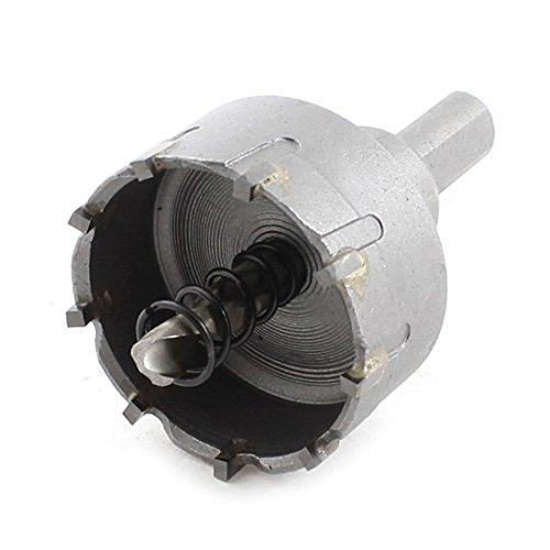 Triangle Shank 6mm Twist Drill Bit 40mm Diameter Stainless Steel Hole Saw