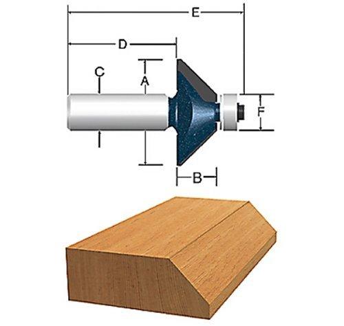 Bosch 85299M 1-932 In x 225 degree Carbide Tipped Chamfer Bit