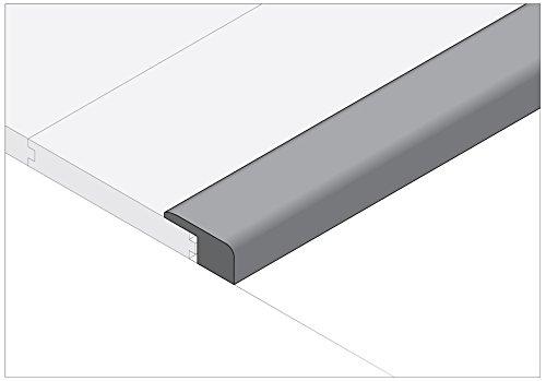 Moldings Online 2004678243 78 x 1 x 037 Unfinished White Oak Mini Square Nose