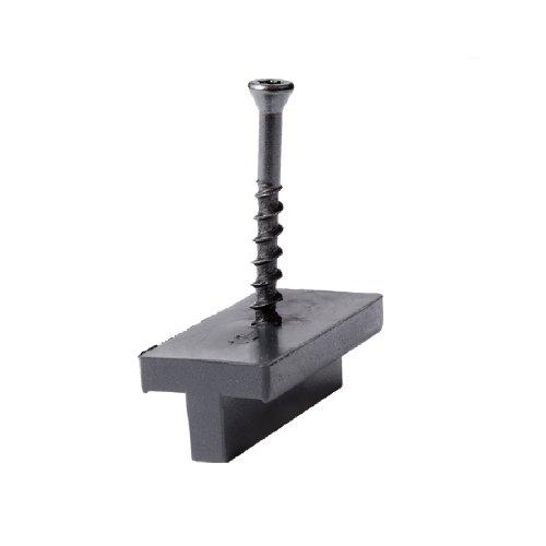 NewTechWood PCHFS50 50-Square Feet Composite Decking Hidden Fastener Black