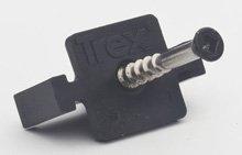 Trex Hideaway Universal Deck Clips 50 SQFT 90ct Hidden Fasteners