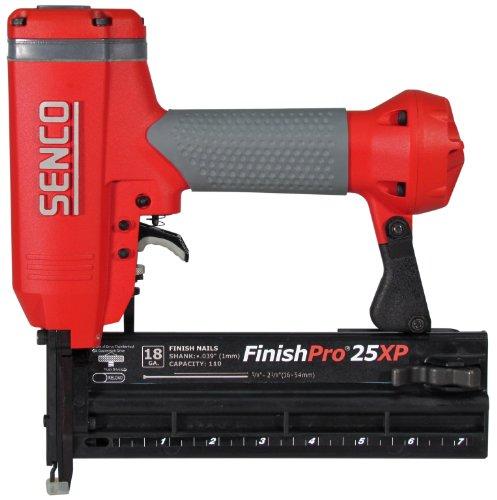 Senco FinishPro 25XP 58-Inch to 2-18-Inch 18 Gauge Brad Nailer with Case