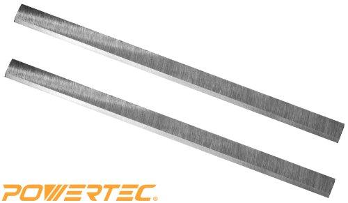 POWERTEC HSS Planer Blades for JET 125  Planer 708522 JWP-12-4P Set of 2