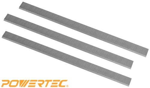 POWERTEC HSS Planer Blades for JET 15  Planer 708529G JWP-15CS JWP-15HO Set of 3