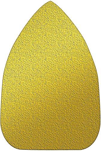 A&H Abrasives 106268 Multi Tool Sanding Shapes Black Decker Mouse H&l Mouse Shape H&L Aluminum Oxide 120 Grit 25 Each