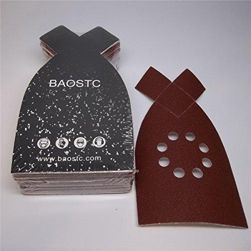 BAOSTC 4-148 P120 velcro sanding disc for BLACK&DECKER mouse sander 50PACK