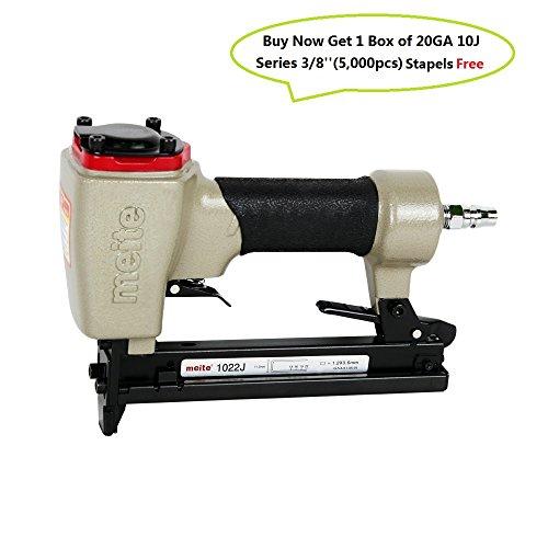 Meite 1022J Upholstery Stapler-- 20 Gauge 38-Inch to 78-Inch Fine Wire Stapler