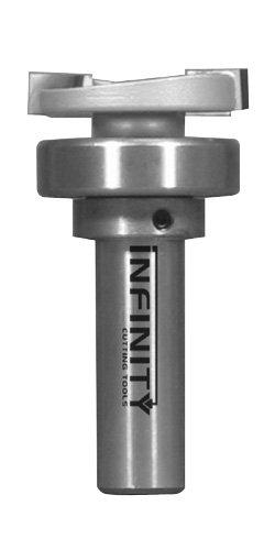 Infinity Tools 12 Shank Dado Planer Router Bit With Bearing Kit