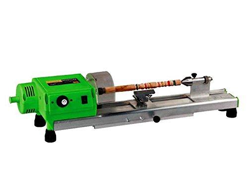 Zowaysoon 220V 480W Precise Mini Wood Lathe Machine Mini DIY Woodworking Lathe Drill for CupPlate