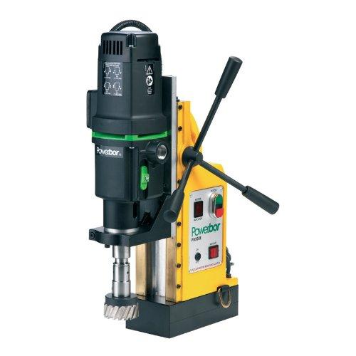 G&J Hall Tools PB1000E Powerbor Electromagnetic Drill Press 4 Cutting Capacity 110V 4-14 Width x 18-78 Height x 12-12 Depth