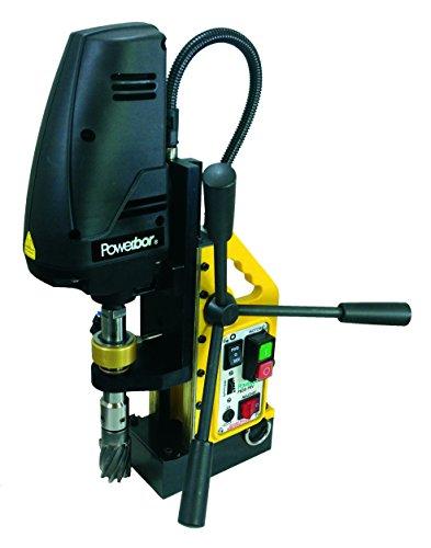G&J Hall Tools PB35FRV Powerbor Electromagnetic Drill Press 1-38 HSS112 TCT Cutting Capacity 110V