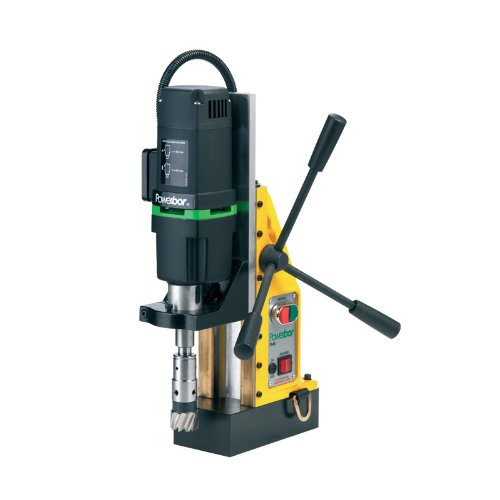 G&J Hall Tools PB450 Powerbor Electromagnetic Drill Press 2 Cutting Capacity 110V 4-12 Width x 14-12 Height x 11 Depth