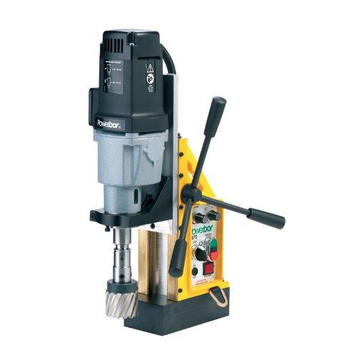 G&J Hall Tools PBC700 CombiPlus Powerbor Electromagnetic Drill Press 3 Cutting Capacity 110V 4-14 Width x 17-12 Height x 13 Depth