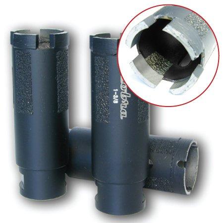 1-12 Super Dry Diamond Core Drill Bit - Granite Marble Concrete Hole Saws