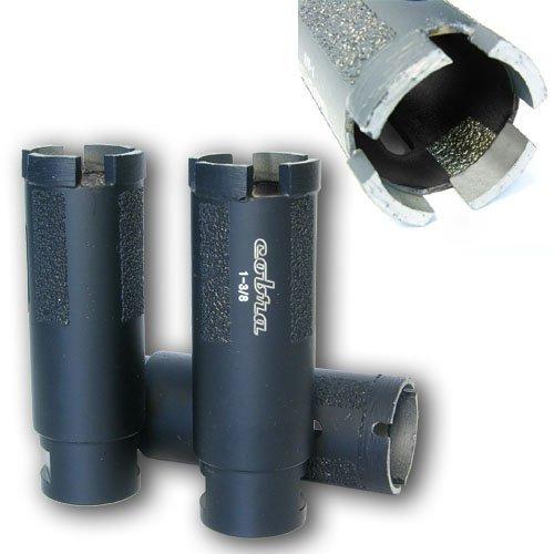 1 38 Super Dry Diamond Core Drill Bit - Granite Marble Concrete Hole Saws