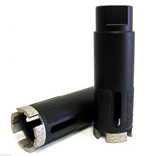 Advanta - 1-12 Supreme Laser Welded Dry Diamond Core Drill Bit for Granite Marble Stone