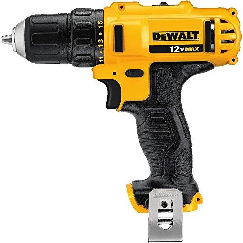 DEWALT DCD710B 12V Max Lithium Drill Driver Baretool 38