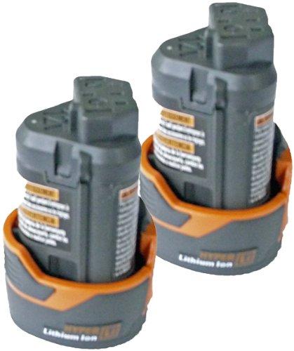 Ridgid R82007 12V Drill Replacement R82048 20 ah Hyper Li-on Battery 2 Pack  130188001