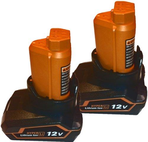 Ridgid R82008 12V Drill Replacement R82058 - 30 ah Li-on Battery 2 Pack  130199001