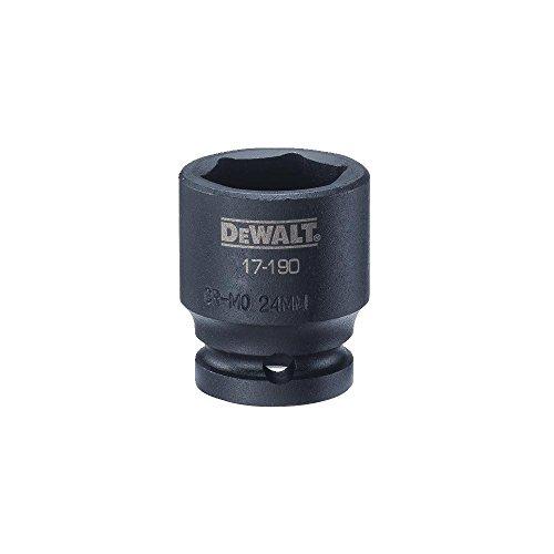 DEWALT 12 Drive Impact Socket 6PT 24MM