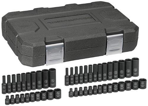 GearWrench 84902 14-Inch Drive Impact Socket Set SAEMetric 48-Piece