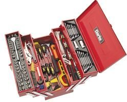 CANTILEVER TOOL BOX INCL TOOLS CHT641 By CLARKE INTERNATIONAL by Best Price Square