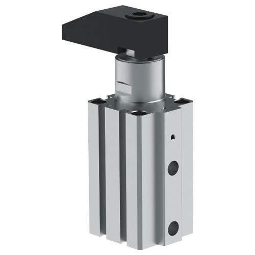 Pneumatic Swing Clamp 32 mm Bore Short Stroke Left Hand Rotation G Port