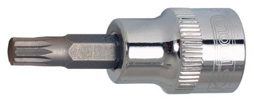 KS Tools 9181673 CHROME XZN Bit Socket 12-Inch M8 by KS Tools