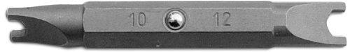 Megapro STD10-12-C S2 Steel Hex Shank Double-Ended Spanner Bit 10 x 12 Point Size 14 Hex Shank 2 Length by Megapro