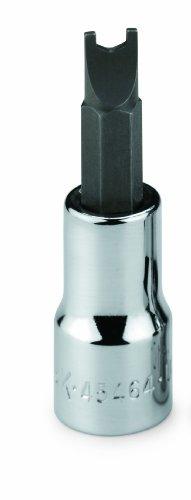 SK Hand Tool 45460 Number-10 38-Inch Drive Spanner Bit Socket Chrome