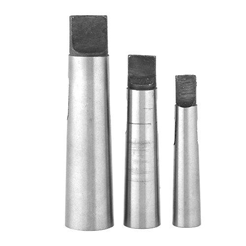 Reducing Drill Sleeve3pcs High Strength Morse Taper Adapter MT1-MT2 MT-2-MT3 MT3-MT4 for Drill Machine