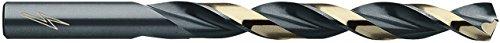 ITM PB-2664 1332 135-Degree HSS Parabolic Drill 6 Pack Black and Gold