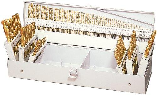 Woodtek 928828 Bits Drill And Boring Machinist Bits 115pc Titanium Drill Bit Set