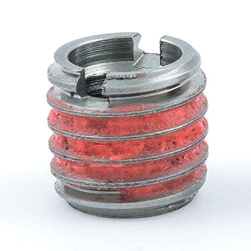 E-Z Lok Externally Threaded Insert 303 Stainless Steel M6-10 Internal Threads M10x15 External Threads 1049mm Length Made in US Pack of 5