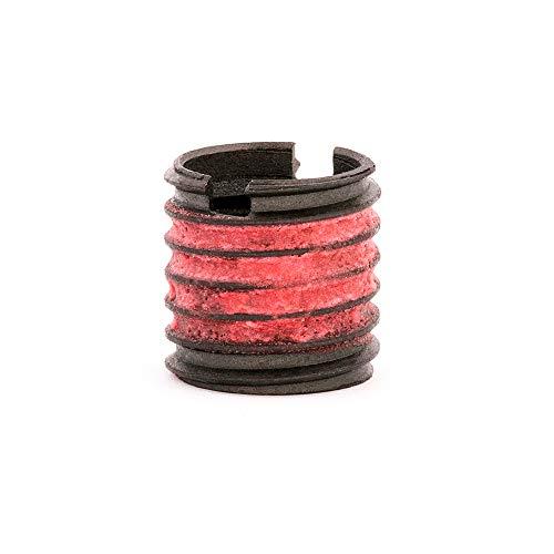 E-Z Lok Externally Threaded Insert C12L14 Carbon Steel Meets AISI 12L14 12-20 Internal Threads 58-11 External Threads 0625 Length Made in US Pack of 5