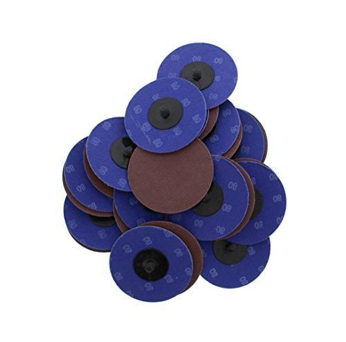 ABN Aluminum Oxide Sanding Discs - 3 Inch 80 Grit 25-pack Best Value