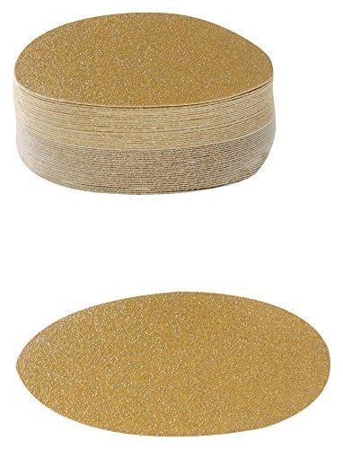 Karebac 5VDNH100 Hook Loop 100 Grit Stearated Aluminum Oxide Discs 50-Pack 5