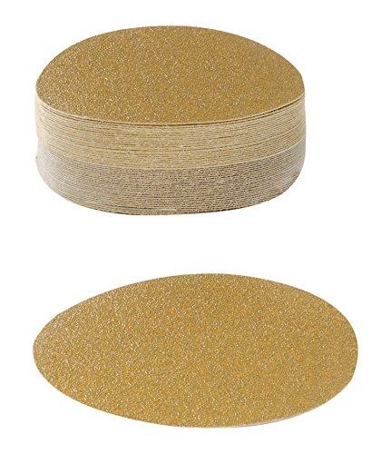 Karebac 5VDNH150 Hook Loop 150 Grit Stearated Aluminum Oxide Discs 50-Pack 5