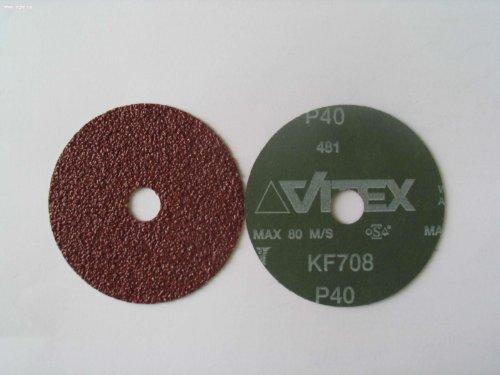 VSM KF708 5 x 78 Aluminum Oxide Discs 36 Grit Qty 100 per Box