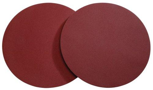 Woodstock D1342 20-Inch Diameter PSA 60 Grit Aluminum Oxide Sanding Disc 2-Pack